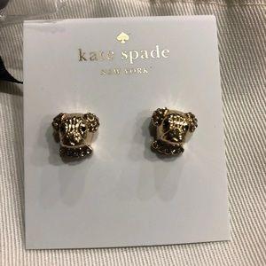 Kate spade dog earrings
